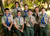 BSA Eagles Scouts SJES Class of 2013