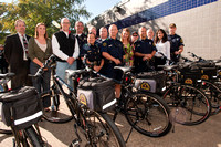White Rock Conservancy Bike Gift to DPD
