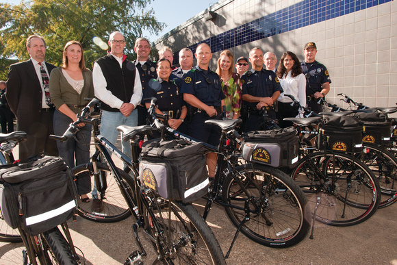 White Rock Conservancy Gifts Bikes to DPD