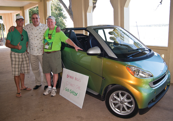 Smart Car Rally benefits the Texas Discovery Gardens